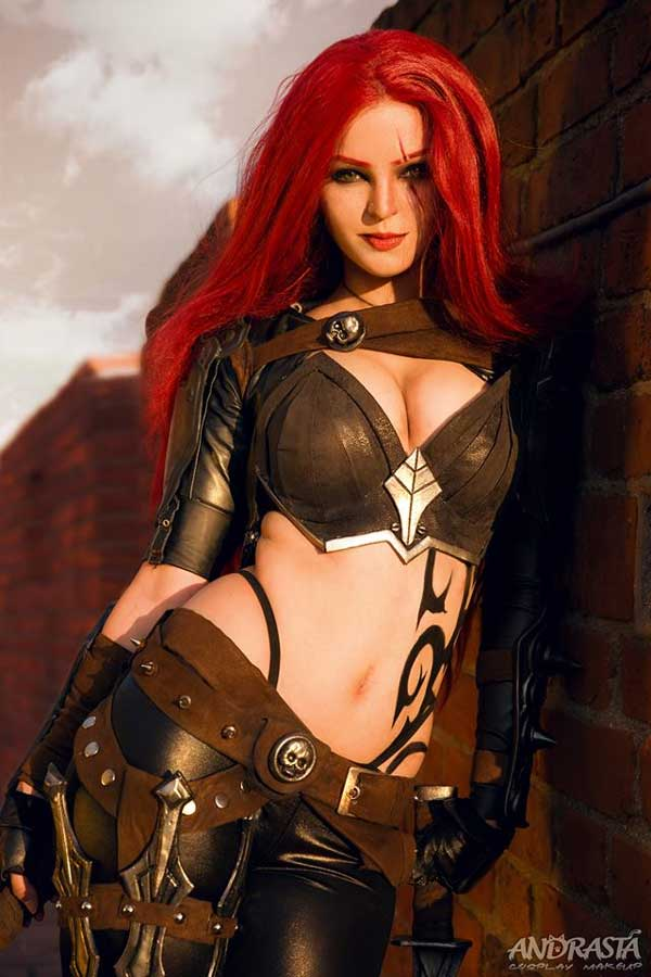 Katarina cosplay hot