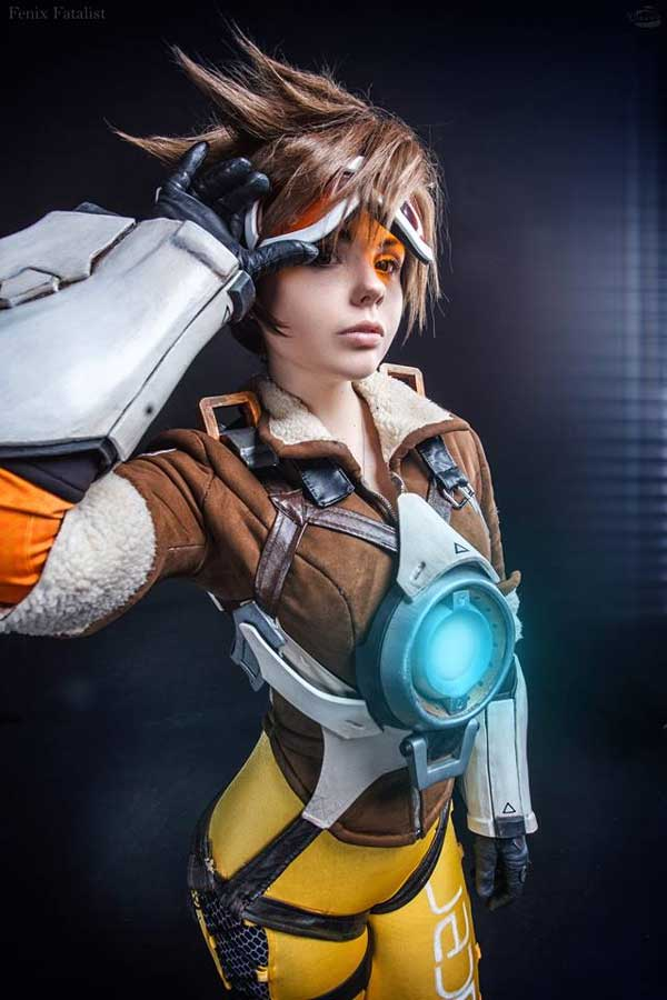 tracer cosplay hot